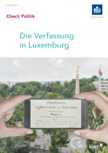 Link zur Broschüre über die Verfassung in Luxemburg