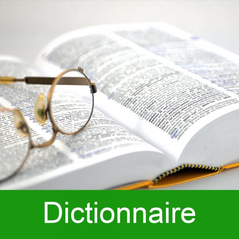 Lien vers le dictionnaire