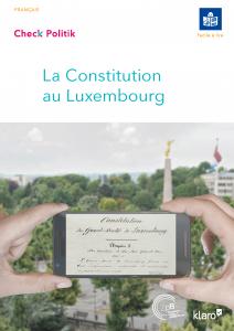 Lien vers la brochure La Constitution au Luxembourg