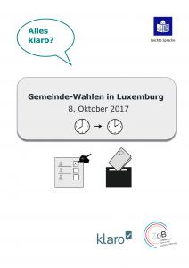 Lien vers la brochure sur les élections municipales en allemand.